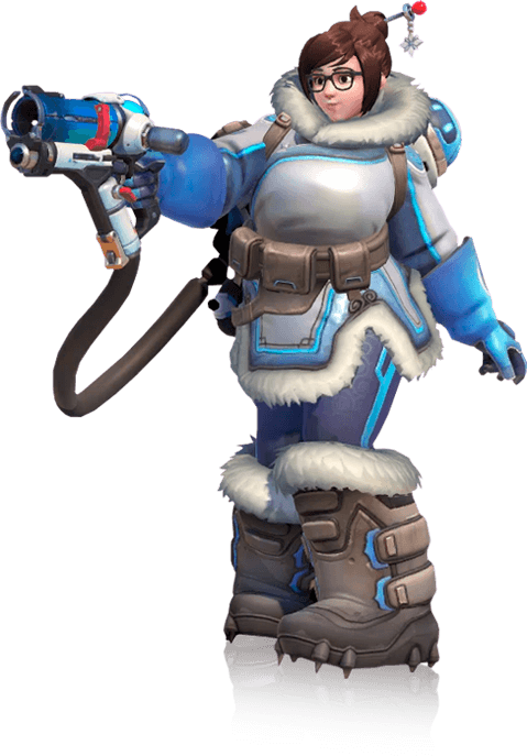 how tall is overwatch mei