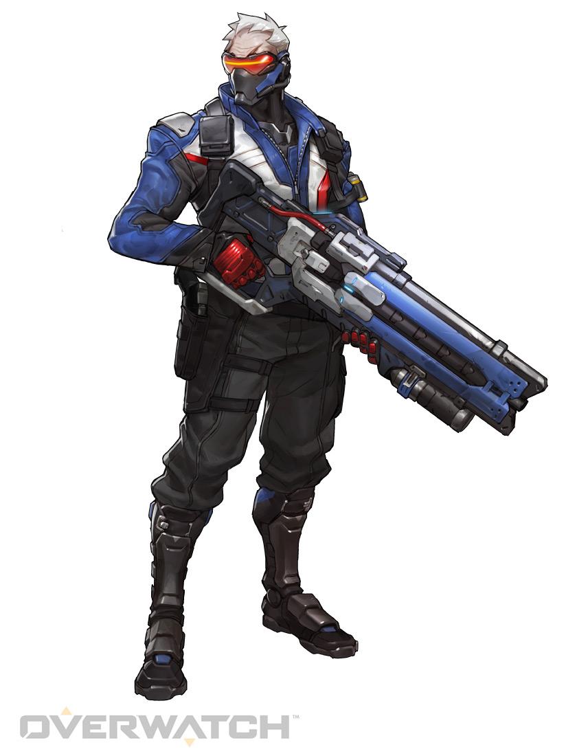 Soldat 76 Hros Overwatch