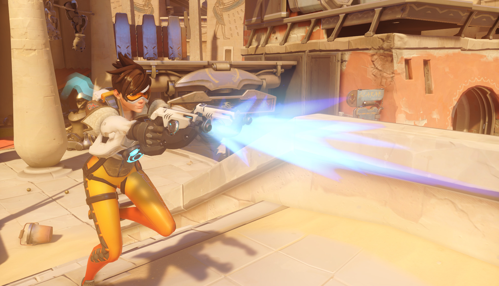 Overwatch Tracer Game Combat