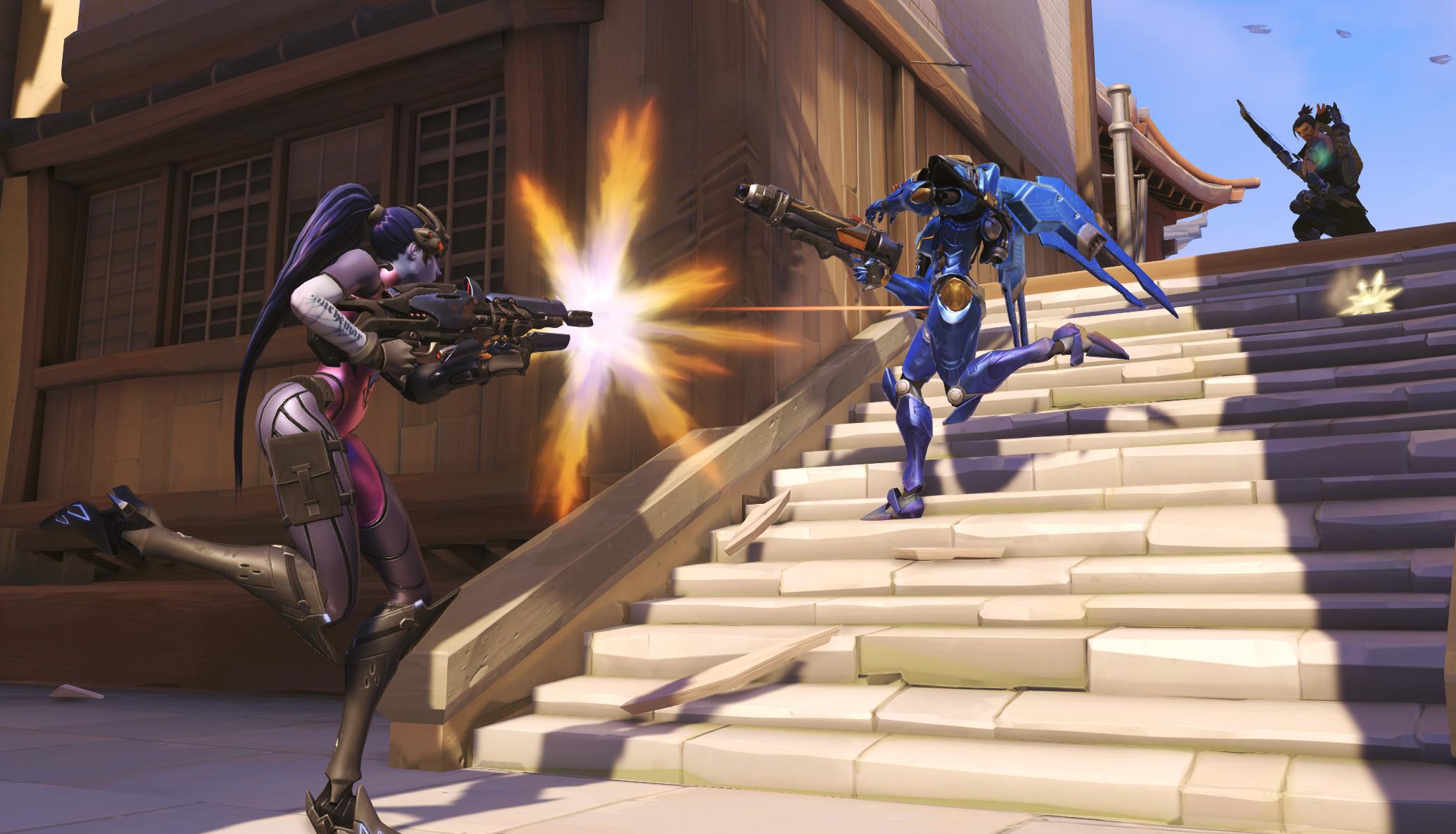 widowmaker screenshot 005 - KekRaptor: Blizzard to Further Rework Overwatch's Ana, Buffs Incoming