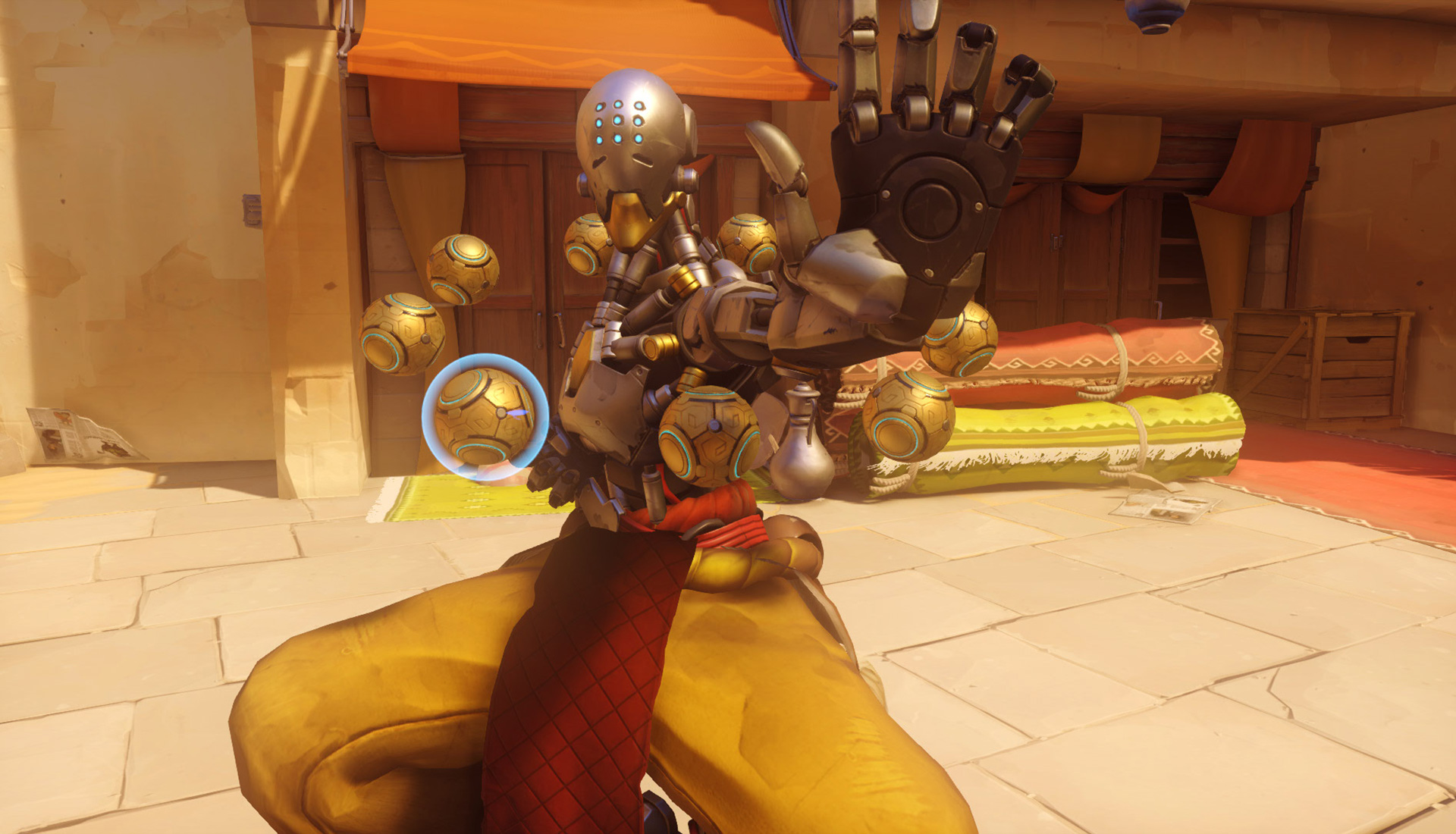 zenyatta screenshot 008 - Is Overwatch's Mercy Underpowered and Does it Affect the Game's Balancing?