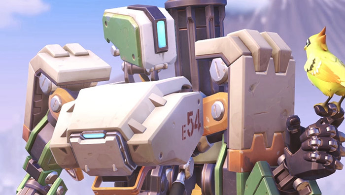 Bastion- Overwatch (image src- PlayOverwatch)