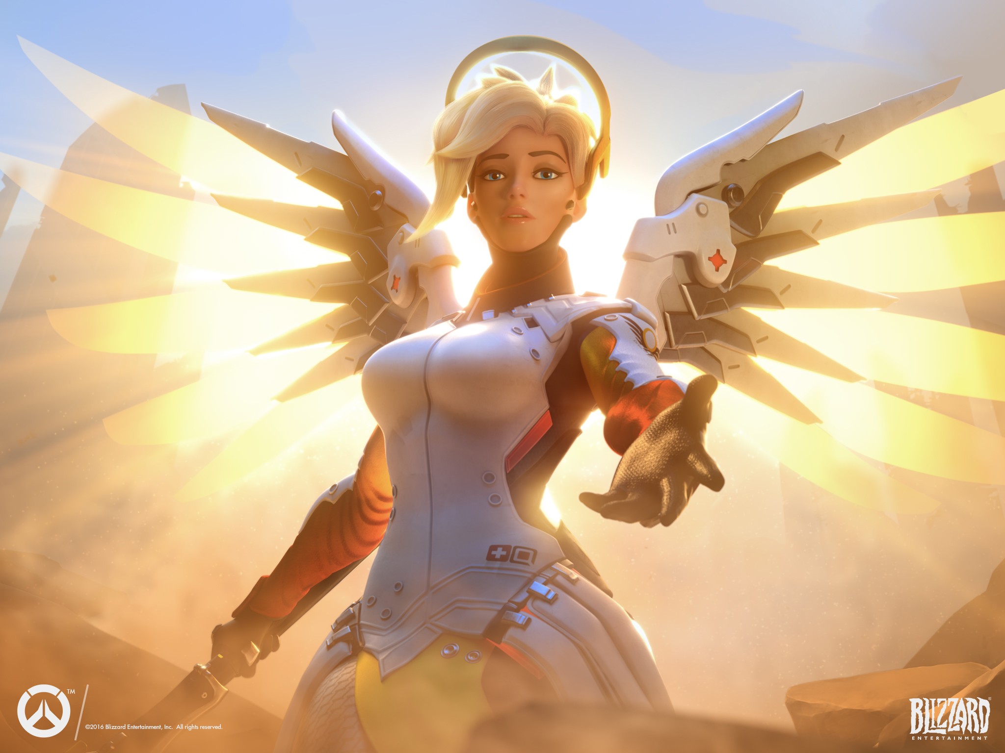The Valkyrie Can Fly - Mercy Drastically Changed